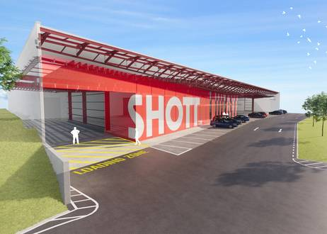 Shott Industrial Warehouse & Manufacturing by Herbst Maxcey Metropolitan Architects