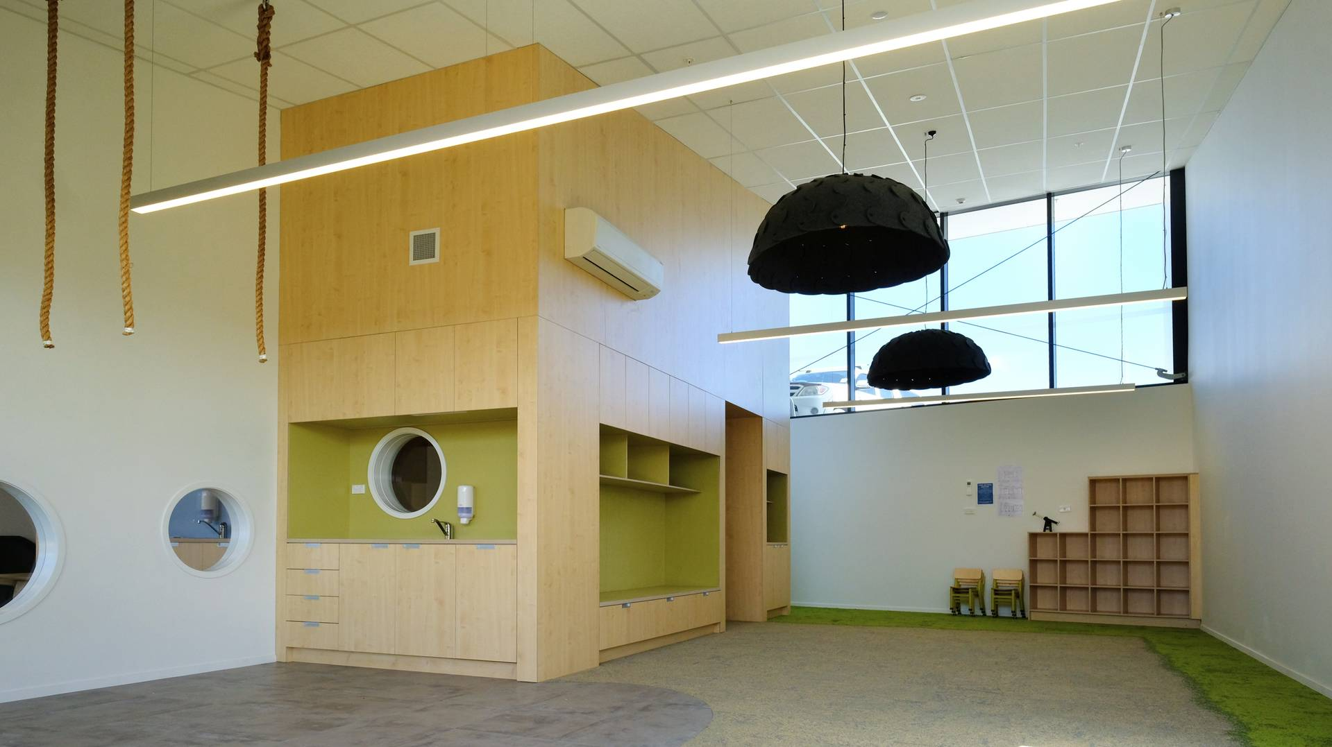 Silverdale Child Care by Herbst Maxcey Metropolitan Architects