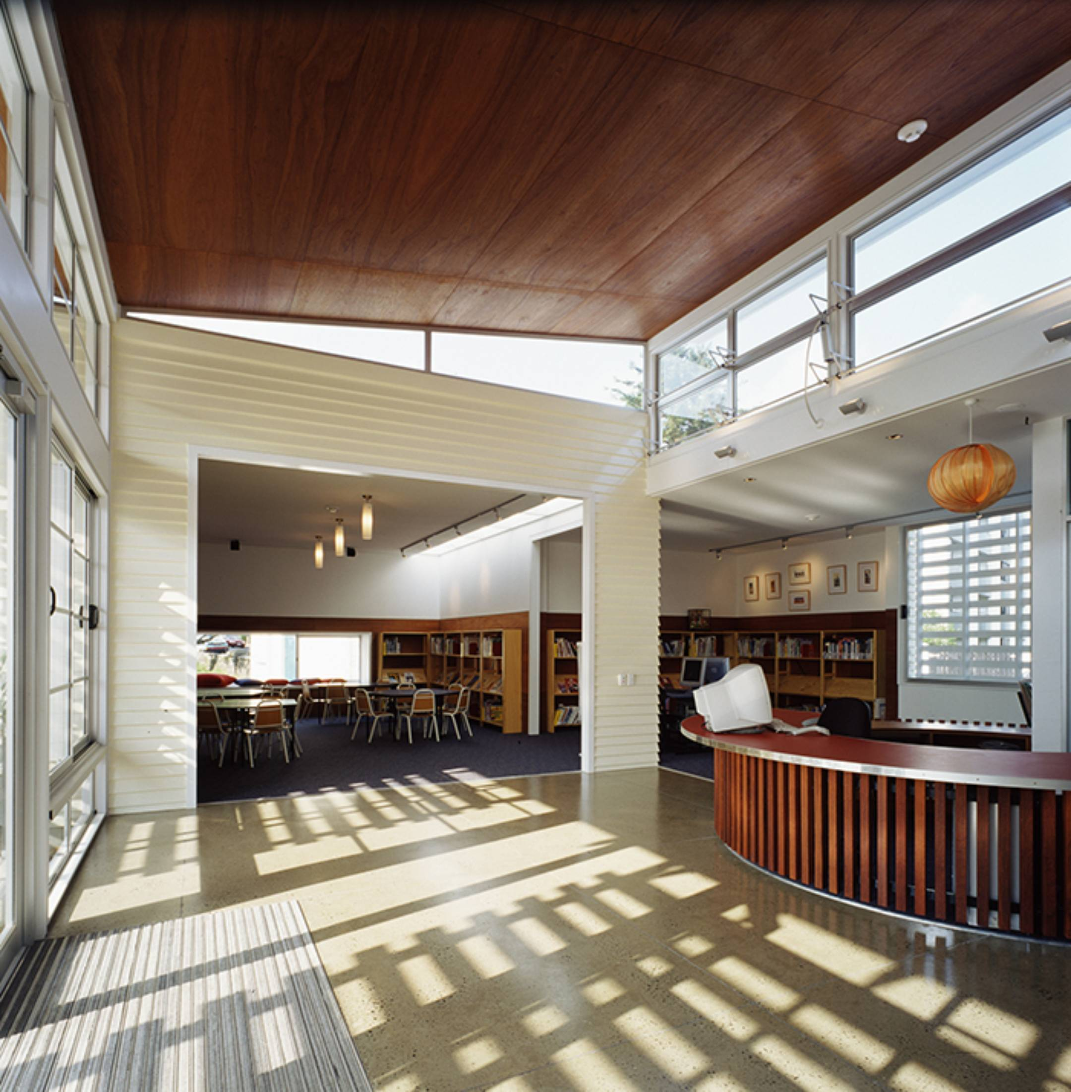 Parnell School Library by Herbst Maxcey Metropolitan Architects
