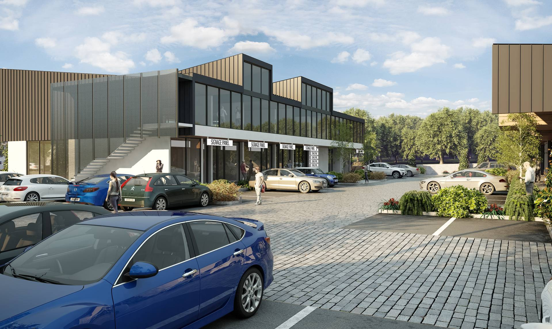 Hobsonville Mixed Use Offices by Herbst Maxcey Metropolitan Architects